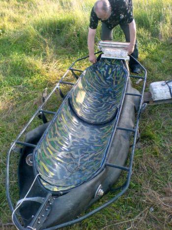 лодка из пластиковой бочки своими руками